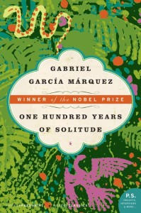 Favourite fiction book cover: 100 Years of Solitude